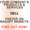 Sell your company's services on Nagaff website